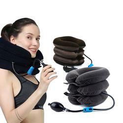 목 어깨결림 방지 3단변신 에어쿠션