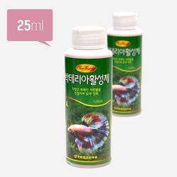 투터치 박테리아제 25ml(대)(25개입)-수족관 물갈이 수질정화