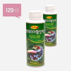 투터치 박테리아제 120ml(대)(6개입)-수족관 물갈이 수질정화