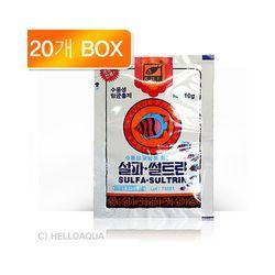 설파 설트린 10g (20개입)-열대어 질병치료제