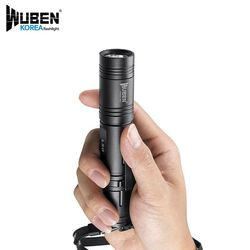 우벤 L50 1200루멘 LED후레쉬 손전등 캠핑랜턴 (A세트)