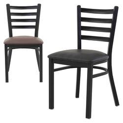 더조아 철재캐빈체어 철재의자 식탁 카페 디자인체어