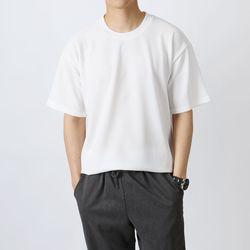 더레이어부드러운 라운드 반팔 티셔츠_PPTLRN02