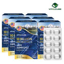 100억 프로바이오틱스 유산균 60캡슐x6개(12개월)
