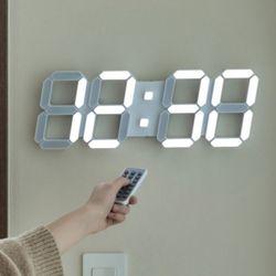 플라이토 3D LED 인테리어 벽시계 시즌2 LG전구 38cm