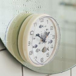 디자인 욕실 흡착 방수시계