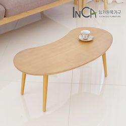 잉카가구 륀느 북유럽풍 원목 소파 테이블 800 2컬러