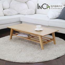 잉카가구 비비안 선반형 접이식 테이블 800