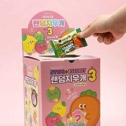 500 당근친구들 랜덤지우개 ver3 60개세트 (box)