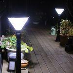 노드 LED 태양광 잔디등