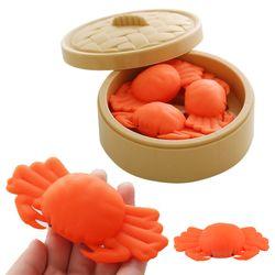 꽃게 클레이 말랑이 심쿵 모찌 스퀴시 주물럭 장난감