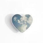 구름 하트 그립톡