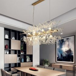 boaz 폭죽일자 식탁등 LED 카페 홈 인테리어 조명