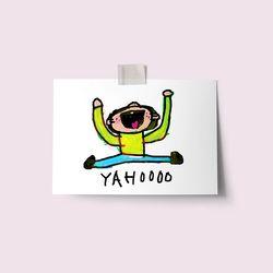 [drawingpaper] 엽서 - yahoo