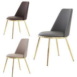 더조아 라온골드체어 디자인 인테리어 카페 의자