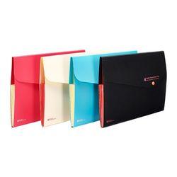 컬러 도큐멘트화일 4분류 F582-7 핑크