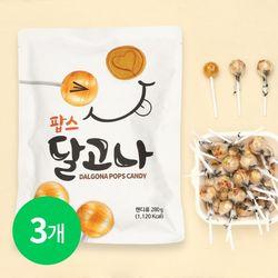 달고나 팝스 막대사탕 280g (2628개입) x 3봉