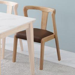 애드나 원목 일반 식탁 의자
