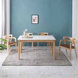애드나 포세린 통세라믹 4인 식탁 세트2(일반형)