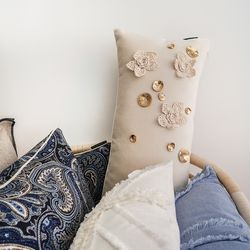 corsage long cushion (솜포함)