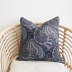 paisley cushion