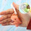미니공룡 말랑이 모찌 스퀴시 몰랑이 키홀더 열쇠고리