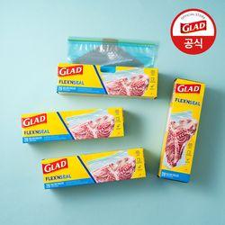 [글래드] 플렉스앤씰 냉동 대형(28매) 4개세트