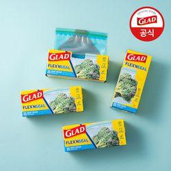 [글래드] 플렉스앤씰 냉동 중형(35매) 4개세트