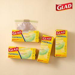[글래드] 플렉스앤씰 냉장 중형(38매) 4개세트