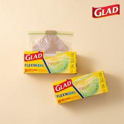 [글래드] 플렉스앤씰 냉장 중형(38매) 2개세트