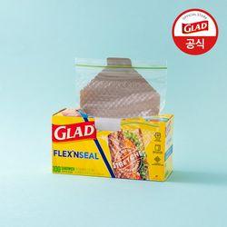 [글래드] 플렉스앤씰 소형 샌드위치백 (100매)