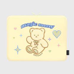 MAGIC MERRY-IVORY(15인치 노트북파우치)