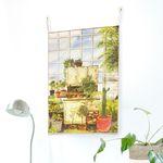 패브릭포스터 - 오래된 정원