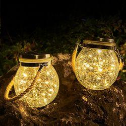 태양열충전 반딧불램프 정원조명 감성캠핑 조명 자가충전 LED
