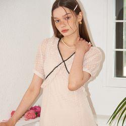 Lace Point Midi Dress_ Ivory