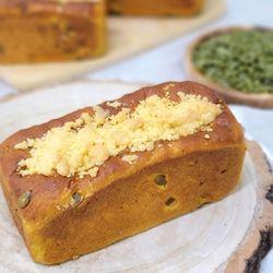 햅쌀로 만든 단호박 치즈베리 크럼블 쌀식빵(1개)