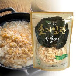 초지일관 김포쌀 100프로 옛날 수제 가마솥 숭늉 누룽지 330g