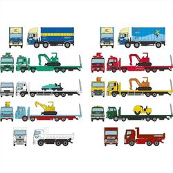 (토미텍)트럭콜렉션 제12탄(10종중택1)(19년08월발매)