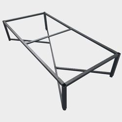 JDF007 나비 1500 좌식 테이블 철제프레임 DIY가구