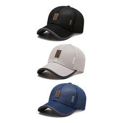 남자 여름 메쉬 볼캡 야구 모자