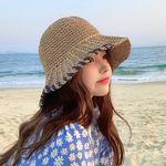 틱톡 여름 밀짚모자 라탄모자