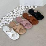 여성 패션 신발 엑스 밴드 데일리 슬리퍼