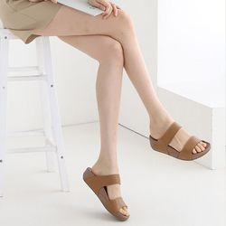 여성 이선슬리퍼 여름 회사 사무실 편한 신발 데일리