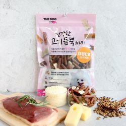 더독 건강한 고기듬뿍 강아지간식 오리300g