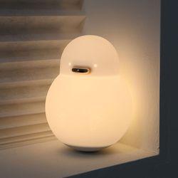 엑스팟 실리콘 오리 LED 취침등