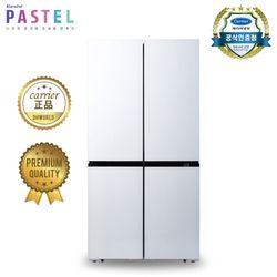 캐리어 클라윈드 4도어 냉장고 화이트 CRF-SN566WFR (566L)
