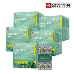 일양약품 프라임 식물성 미세조류 오메가3 60캡슐 5박스