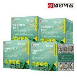 일양약품 프라임 식물성 미세조류 오메가3 60캡슐 4박스