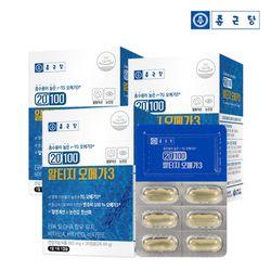 종근당 20100 알티지 오메가3 30캡슐 3박스 3개월분