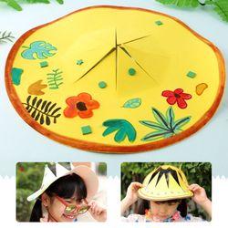 EVA햇빛모자꾸미기(4인용)여름모자썬캡만들기
